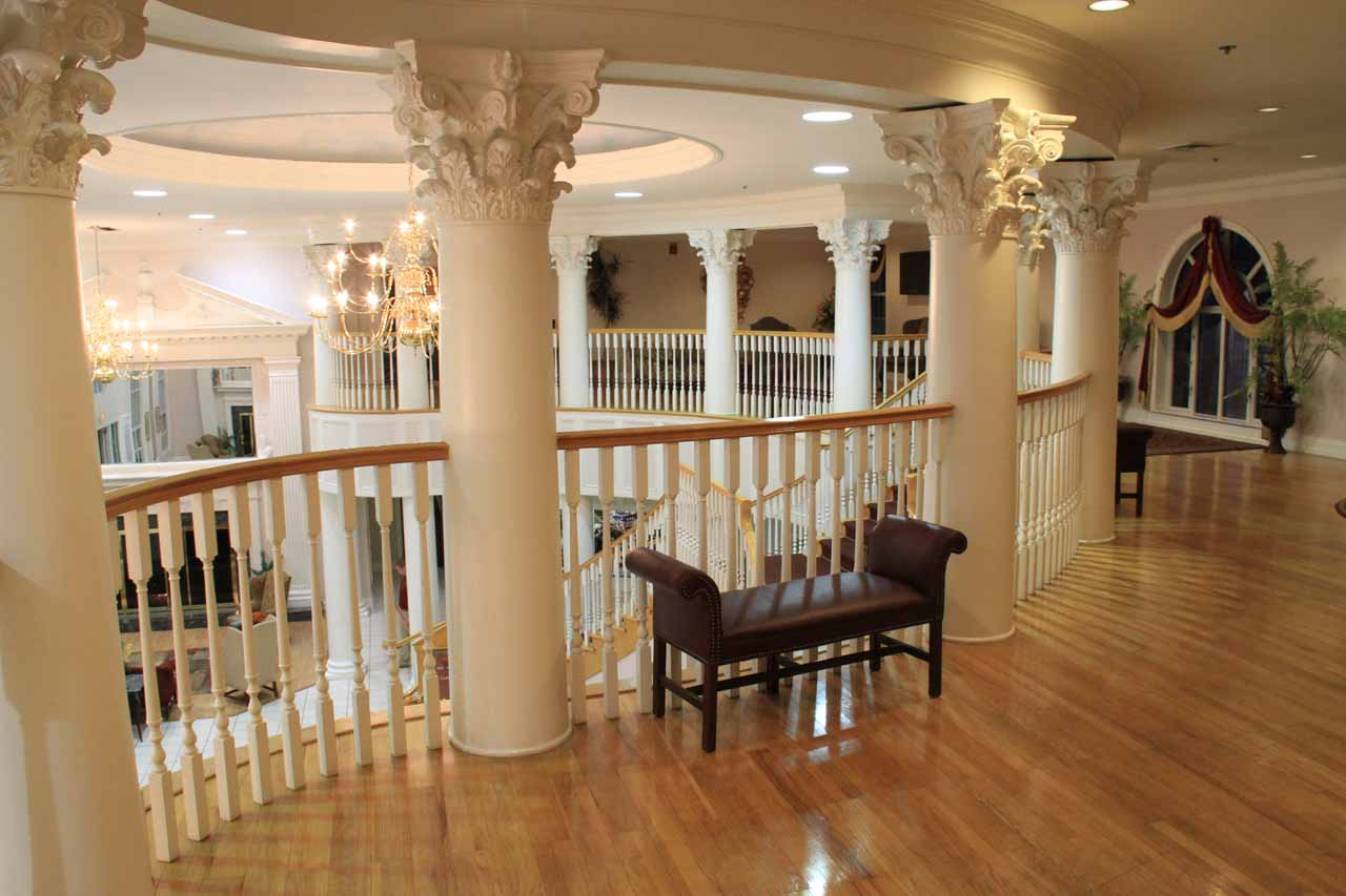 Upstairs at the Cumberland Inn