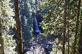 Curly_Creek_Falls_074_04052021 - Fast-exposed contextual look at Miller Creek Falls