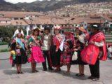 Cusco_074_jx_04212008 - Peruvians in colorful native threads