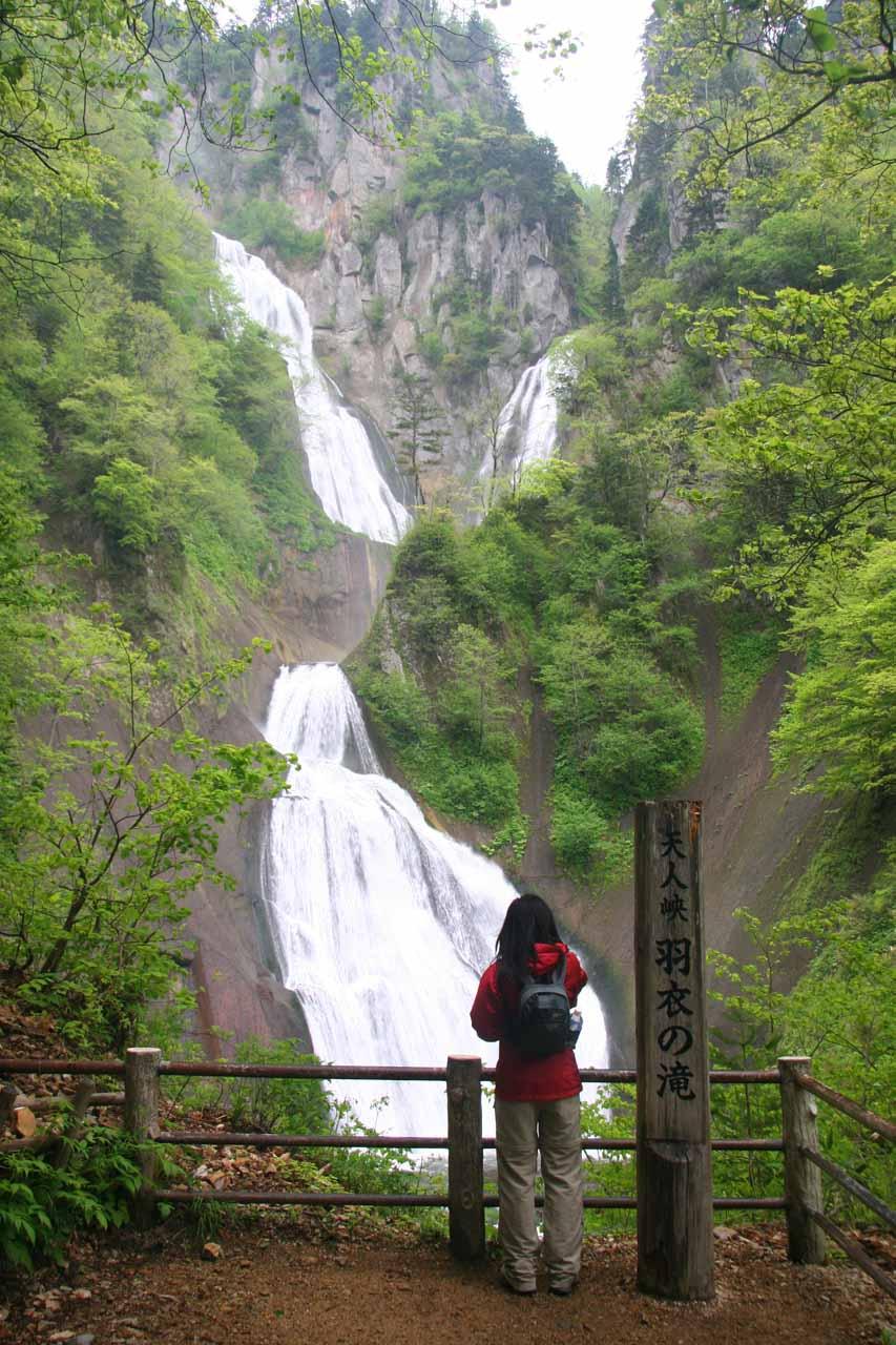 Hagoromo Falls