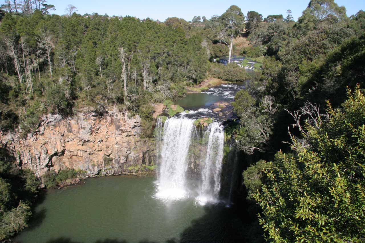 Dangar Falls from the upper lookout