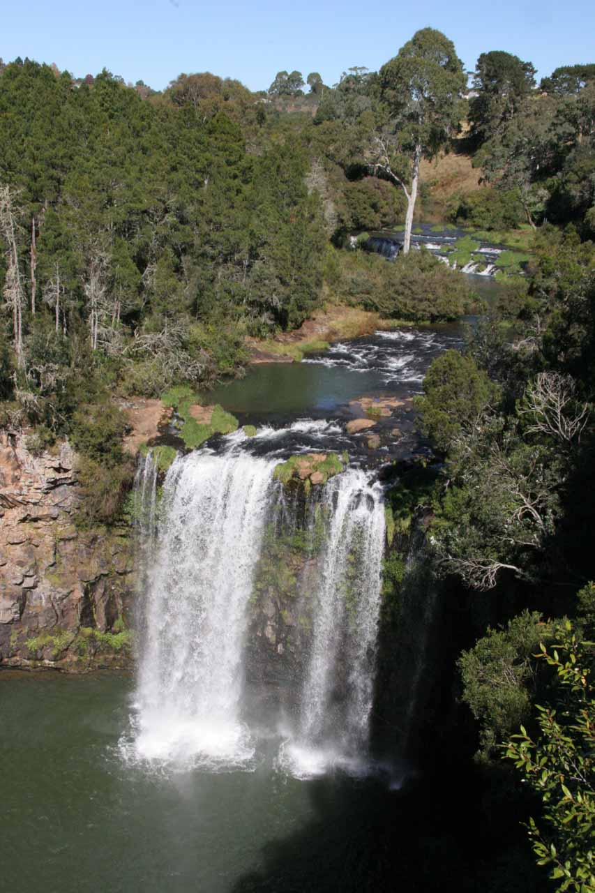 Another look at the Dangar Falls and some smaller upper tiers from the lookout near the car park