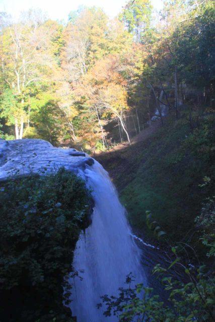 DeCew_Falls_032_10122013 - DeCew Falls from inside the Morningstar Mill