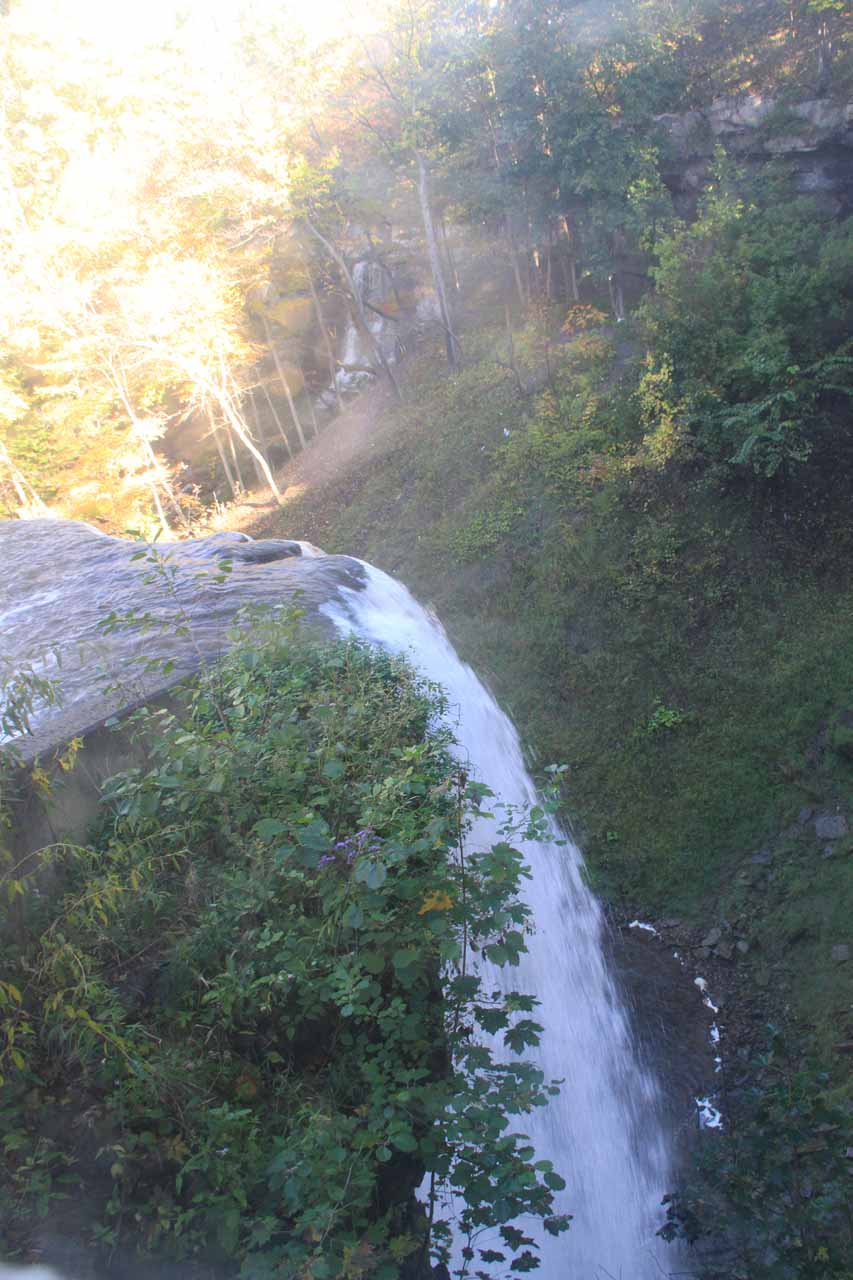 This was the closest view of DeCew Falls we could get, which came from inside the Morningstar Mill