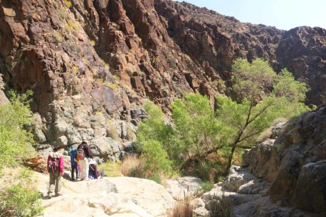Death_Valley_17_158_04082017 - The family making their way out after having their fill of Darwin Falls