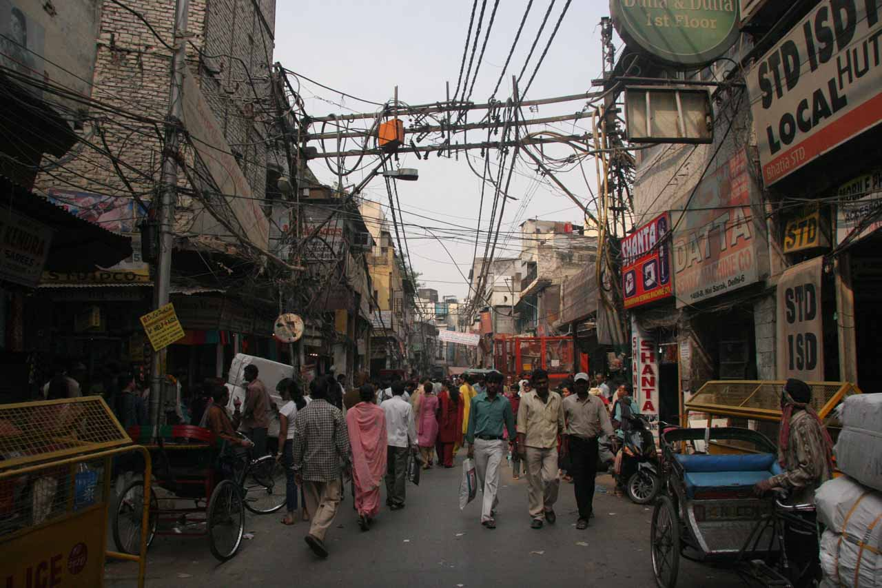 More aimless meanderings in the Chandni Chowk Bazaar