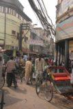 Delhi_125_11032009 - Weaving through the Chandni Chowk beneath dangerously entangled power lines