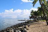 Denerau_021_11102019 - Looking along the coastline fronting the Westin Fiji in Denerau as the morning weather improved