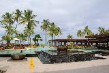 Denerau_052_11102019 - Context of the swimming pool fronted by a fountain at the Sheraton Fiji in Denerau