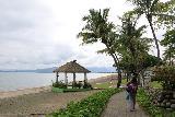 Denerau_064_11102019 - Julie making her way along this coastal walk to the Sofitel Fiji in Denerau