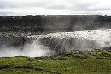 Dettifoss_West_056_08132021 - Looking across Dettifoss as we got closer to its brink on its west side