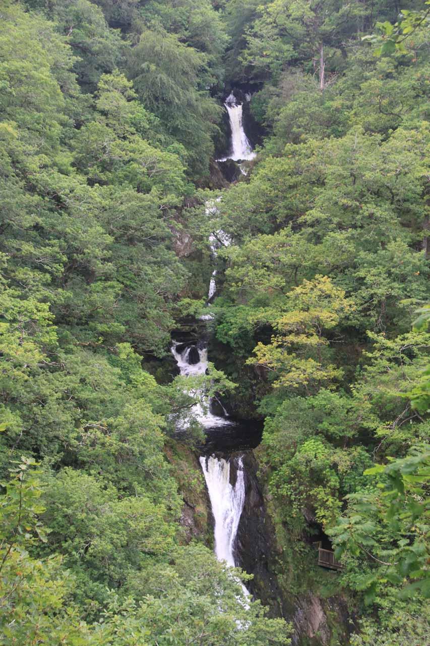 Mynach Falls