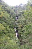 Devils_Bridge_033_09032014 - Contextual look at Mynach Falls with the Hafod Hotel way at the top