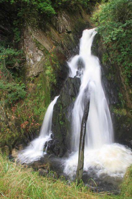 Devils_Bridge_101_09032014 - Looking towards one of the upper tiers of Mynach Falls or Devil's Bridge Falls