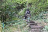 Devils_Bridge_116_09032014 - Julie and Tahia still climbing up the Waterfall Nature Walk at the Devil's Bridge