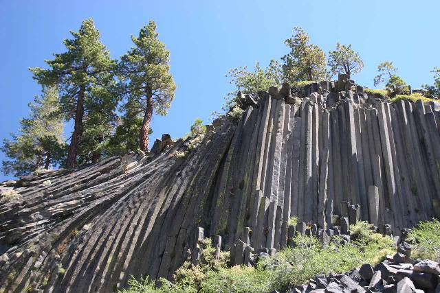 Devils_Postpile_005_08202010 - The Devil's Postpile formation was merely a 1/4-mile walk from the same trailhead as that of Minaret Falls