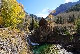 Devils_Punch_Bowl_Crystal_Mill_430_10172020 - Another contextual look at the Crystal Mill with waterfall and some hint of Fall colors