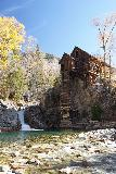 Devils_Punch_Bowl_Crystal_Mill_462_10172020 - Looking across the Crystal River towards the Crystal Mill and waterfall