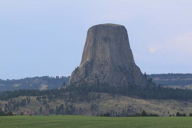 Devils_Tower_095_07302020 - The Black Hills of South Dakota were pretty close to the eccentric Devil's Tower in northeastern Wyoming so it made sense to check it out since we were in the vicinity
