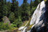 Diamond_Creek_Falls_117_07142016 - Diamond Creek Falls juxtaposed with some interesting volcanic rocks