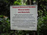 Diamond_Falls_001_jx_11302008 - Sign at the entrance of the Diamond Botanical Gardens