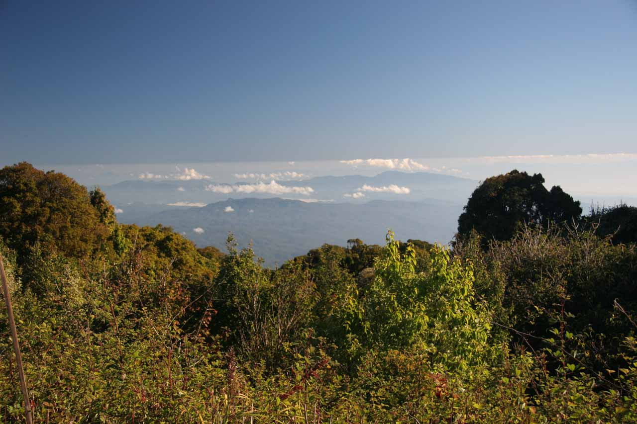 The summit of Doi Inthanon
