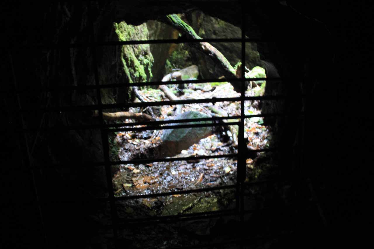 This was the other end of the cave by the first Dolgoch Falls