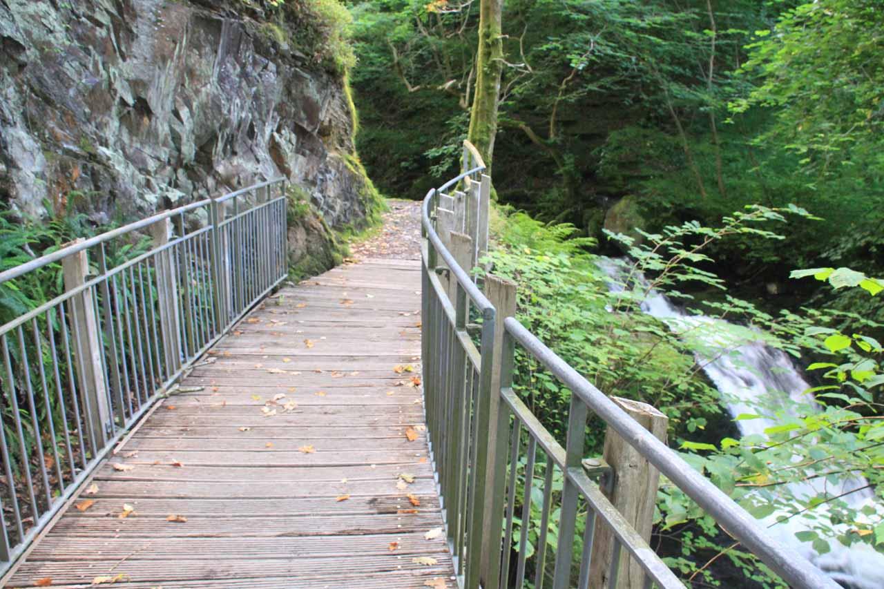 This bridge was called Pont yr Ogof