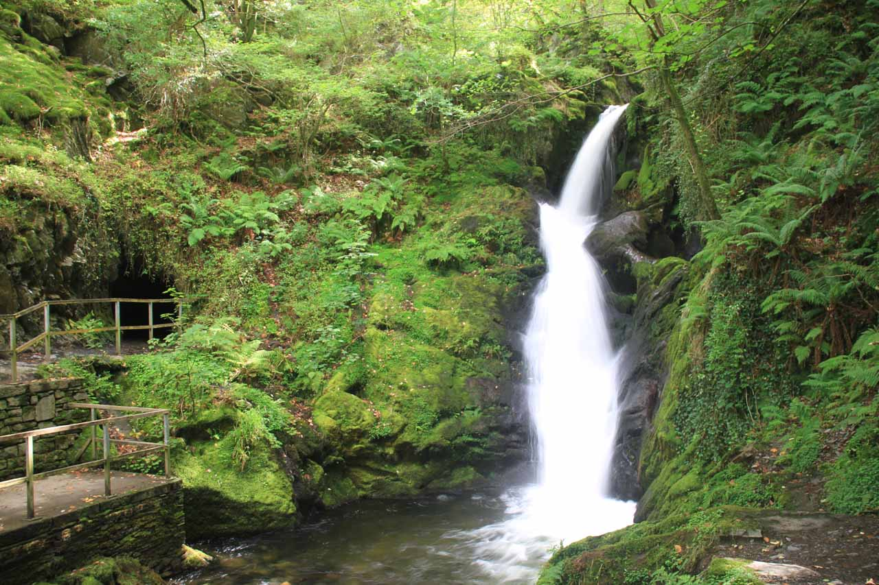 To me it was a toss up between the Middle Falls and the Lower Falls (shown here) in terms of which of the three falls were the best of Dolgoch Falls