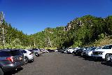 Donut_Falls_005_08092020 - Getting a mid-morning start at Donut Falls in mid-August 2020, but as you can see, there were already quite a few people at the Mill D Parking Lot