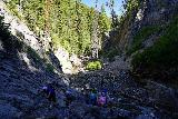 Donut_Falls_140_08092020 - Looking down as I was making my way up to the Donut Falls during our visit in mid-August 2020