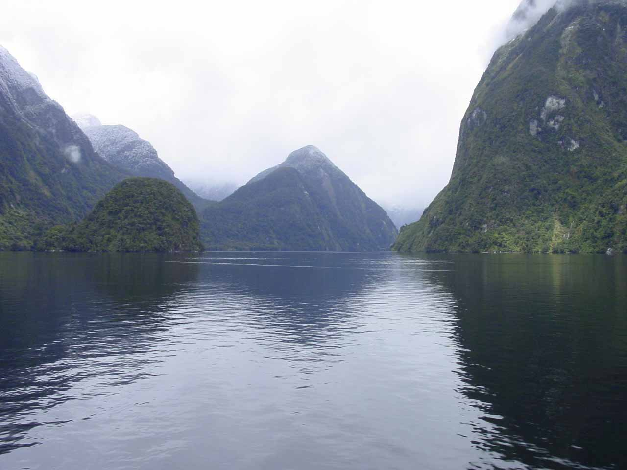 Cruising about on the Doubtful Sound