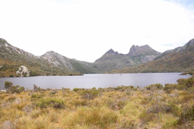 Dove_Lake_17_027_11292017 - After our first visit to Preston Falls, we also drove towards Cradle Mountain to experience the stunning landscape and the surprising wildlife