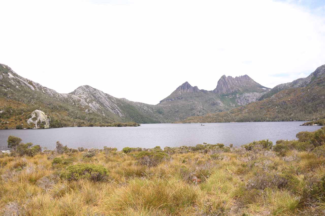 After our first visit to Preston Falls, we also drove towards Cradle Mountain to experience the stunning landscape and the surprising wildlife