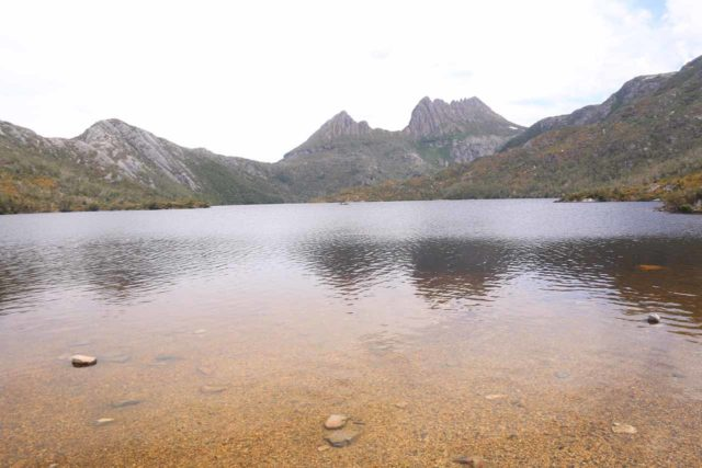 Dove_Lake_17_031_11292017 - On our second visit, we drove to Burnie from Cradle Mountain, which was one of Tasmania's premiere spots to enjoy stunning landscapes and wildlife