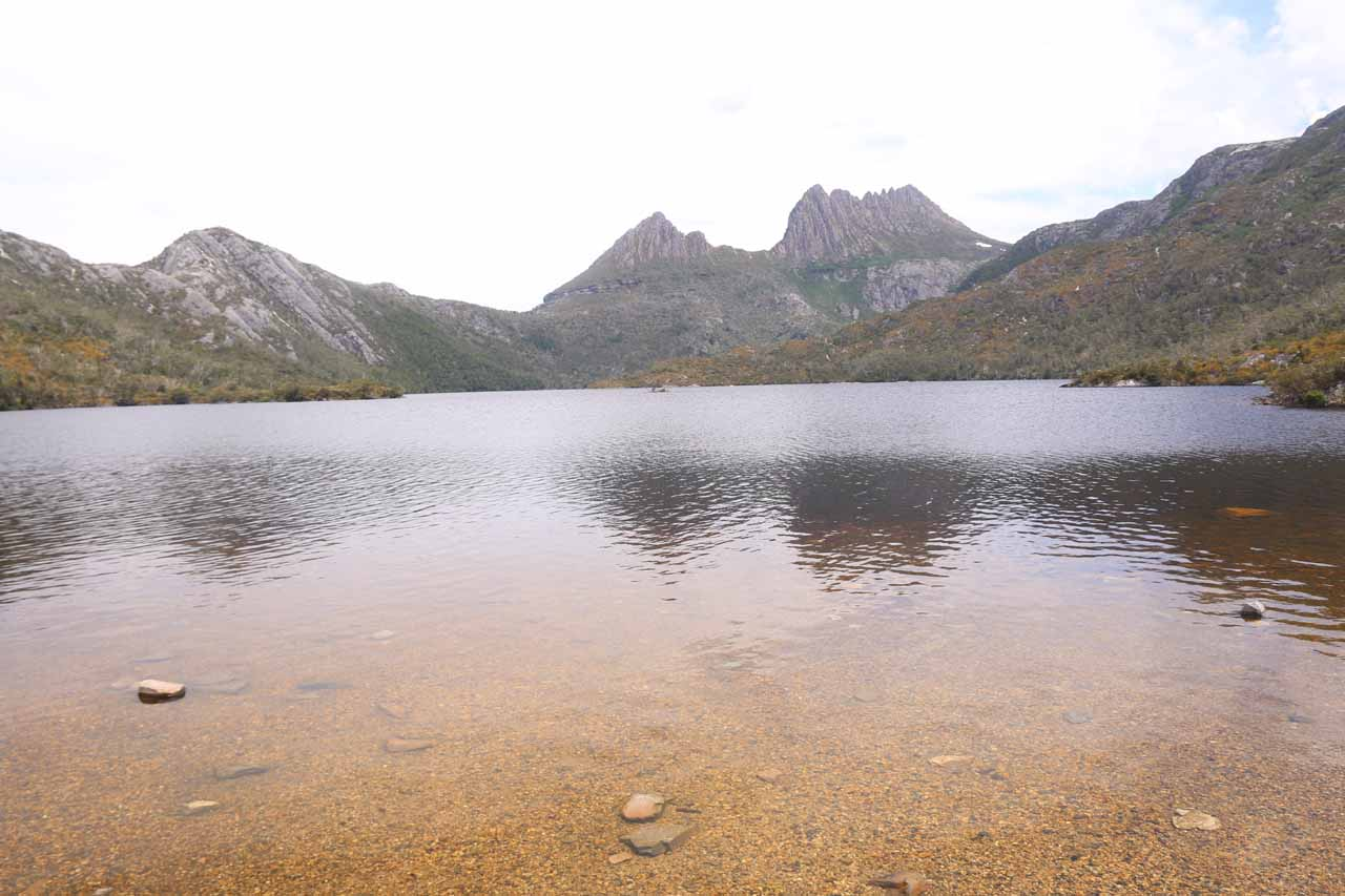 On our second visit, we drove to Burnie from Cradle Mountain, which was one of Tasmania's premiere spots to enjoy stunning landscapes and wildlife
