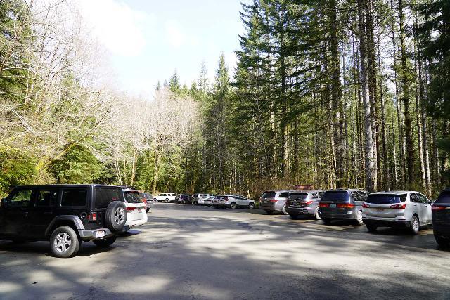 Drift_Creek_Falls_003_04082021 - The Drift Creek Falls Trailhead Parking Lot