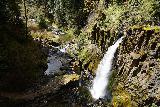 Drift_Creek_Falls_053_04082021 - Looking down at Drift Creek Falls from the suspension bridge