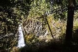 Drift_Creek_Falls_076_04082021 - View of Drift Creek Falls from a shaded spot underneath the suspension bridge