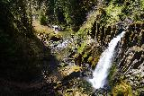 Drift_Creek_Falls_123_04082021 - Broad look down at Drift Creek Falls from the bouncy suspension bridge