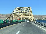 Drive_from_Ephrata_to_Franklin_Falls_003_iPhone_06202021 - Traversing the bridge going across Wanapum Lake on the I-90 towards Seattle