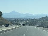 Drive_from_Eugene_002_iPhone_04092021 - Approaching Medford with Mt McLoughlin in the distance as we headed south on the I-5 in Southern Oregon