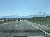 Drive_from_Eugene_009_iPhone_04092021 - Another contextual look at Mt Shasta and the I-5 as we headed south on the I-5 in California
