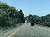 Drive_from_Eugene_018_iPhone_04092021 - Driving through the Shasta-Trinity National Forest as we were making our way south towards Redding on the I-5