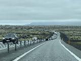 Drive_from_Hjalparfoss_to_Reykjavik_007_iPhone_08202021 - Back on the busy Ring Road as we entered into overcast skies when we had been getting pretty decent weather within Thjorsardalur