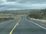 Drive_from_Palouse_Falls_002_iPhone_04042021 - Driving towards Kennewick once we got to the main roads en route to the US395