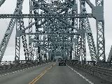 Drive_through_Astoria_009_iPhone_06242021 - Crossing the bridge over the Columbia River to re-enter the Washington side en route to Lower Lewis River Recreation Area
