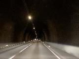 Drive_to_Akureyri_006_iPhone_08142021 - Inside the 6km tunnel dramatically shortening the drive to Akureyri from Laugar along the Ring Road