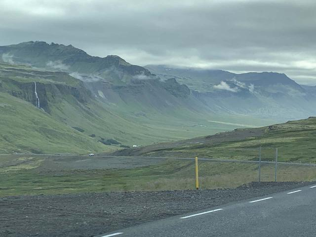 Drive_to_Bjarnafoss_015_iPhone_08182021 - While driving from Ólafsvík to Bjarnarfoss, we got some nice views of it while descending the pass towards the southern side of the Snæfellsnes Peninsula