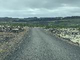 Drive_to_Glanni_008_iPhone_08182021 - On the small access road through the Grabrokarhraun lava field towards Glanni